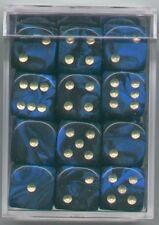 NEW Dice Cube Set of 36 D6 (12mm) - Oblivion Blue
