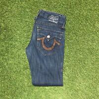 Vintage TRUE RELIGION JOEY Womens Jeans 29 x 32 Dark Wash | Y2K USA