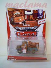 Disney pixar cars 2 deluxe Waiter Mater 2014 criccheto mel dorado mattel maclama