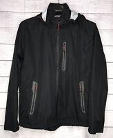 Hawke & Co Sport Performance Waterproof Windbreaker Jacket Mens Size XXL Black
