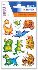 """Sticker Schmucketiketten """"Dinos"""", HERMA Decor 3431"""