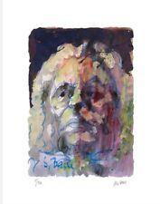 "Orig. Farblithografie Armin Mueller Stahl ""Johann Sebastian Bach"" handsigniert"