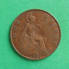 1926ME Modified Effigy George V Penny SNo48434