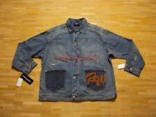 "ORIGINALE Rocawear Giacca Jeans Jay Z label ""NUOVO"" Taglia: XL Denim Blu Hip Hop"