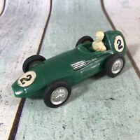 Mak's Toys plastic friction Racing Car No2021 HONG KONG 1960s - For restoration