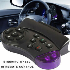 3Cda for 7 Inch Car Mp5 Steering Wheel Wireless Remote Simple Accessories Purple