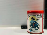 The Saturday Evening Post Vintage Tin Norman Rockwell