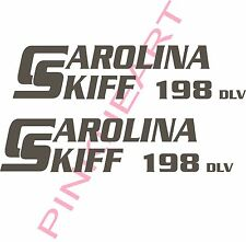 carolina 198 DLV skiff Boat Decals Graphics Sticker Decal Stickers  USA