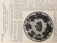m10-9c ephemera 1905 article liverpool pottery and porcelain willoughby hodgson