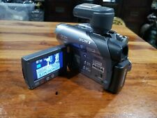 Sony Handycam Dcr-Dvd305 Camcorder nightshot microphone dvd working