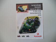 advertising Pubblicità 1999 MOTO KAWASAKI NINJA ZX-6 R
