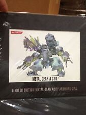 METAL GEAR ACID 2 Limited Edition Artwork Cell RARE NEW HTF