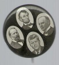 SHARP JOHN KENNEDY, LINCOLN, McKINLEY, GARFIELD MARTYRS PIN