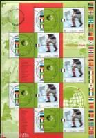 STAMP / TIMBRE FRANCE NEUF BLOC N° 49 ** SPORT / CHAMPIONNAT DU MONDE FOOTBALL