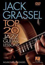 Jack Grassel 20 Top Jazz Guitar Lessons Instructional Guitar  DVD NEW 000320644