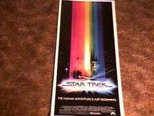 STAR TREK THE MOTION PICT ROLL INSERT MOVIE POSTER 1979 KIRK SPOCK