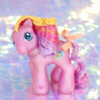 My Little Pony BABY SUNSPARKLE Pink Yellow Purple Rainbow Heart G3 MLP BJ938