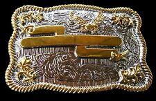 Boucle De Ceinture Rodeo Western Engraveable Belt Buckle