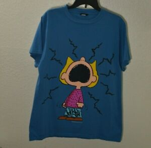 Pre-owned Peanuts Vintage T-Shirt Unisex Size Large