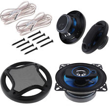 "2Pcs 4"" 100W 3 Way Car Loud Speaker Coaxial Horn Stereo Audio Music Loudspeaker"