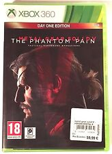 METAL GEAR SOLID V THE PHANTOM PAIN Neuf sous blister Jeu XBOX 360