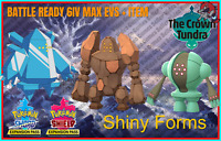 REGICE REGISTEEL REGIROCK ✨Shiny✨BR 6IV Pokemon Sword Shield Home