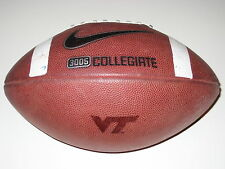 Virginia Tech Hokies GAME USED Nike 3005 Football - Frank Beamer - UNIVERSITY