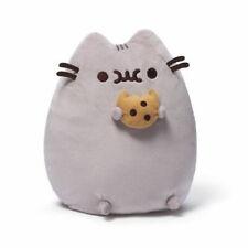 Pusheen Katze mit Keks,kleine Version,Stofftier,Kuschenltier,Neu,Cookie,B-Ware