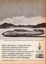 Pubblicità Advertising Werbung 1966 CHAMPION Mickey Thompson-La Challenger