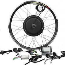 48V1200W Hi Speed Electric Bicycle E Bike Hub Motor Conversion Kit + LCD display
