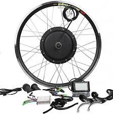 48V1200W Hi Speed Electric Bicycle E Bike Hub Motor Conversion Kit + LCD display