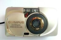 olympus infinity stylus zoom 140 Deluxe point & shoot film camera all weather