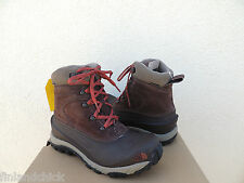 NORTH FACE CHILKAT II WATERPROOF LEATHER SNOW BOOTS , MENS US 9/ EU 42 ~NEW