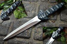 BDS CUTLERY D2 TOOL STEEL CUSTOM MADE COMBAT GERMAN CAMP DAGGER KNIFE | UK-749
