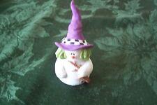 "Sarah's Attic Snowonders 6409 October ""Witchy "" Snowman Halloween"