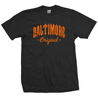 Baltimore Original Outlaw T-Shirt - OG Born in Maryland Tee - All Size & Colors