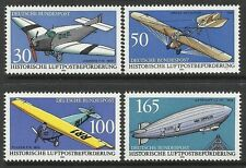 GERMANY. 1991. Historic Mail Aircraft Set. SG:2357/60. Mint Never Hinged.