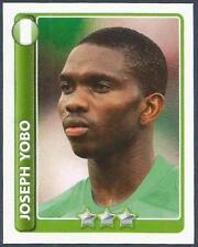 TOPPS ENGLAND 2010 WORLD CUP- #186-NIGERIA-JOSEPH YOBO