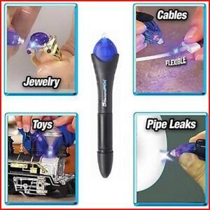 Bondic Repair Liquid Glue Anything Plastic Uv Protection Light Welder Non-toxic