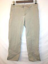 Express Jeans Stretch Womens Juniors Khaki Trouser Capri Drawstring Size 1/2