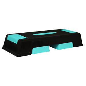 Stepbench Fitness Stepper Aerobic Sport Board Verstellbar 3 Stufen