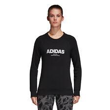 (tg. 44 (taglia produttore M)) adidas Ess Allcap Swt Felpa Donna Nero (black B