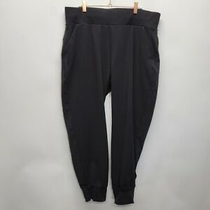 Public Rec Mens 36x28 All Day Every Day Joggers black Nylon Travel Golf Home