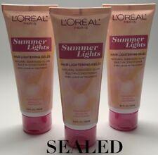 L'Oreal Summer Lights Hair Lightening Gelee Dark Blonde To Light Blonde-3 Pack