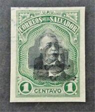 nystamps El Salvador Stamp Used Proof