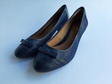 Ladies Clarks Heel Shoes Size UK 6 EU 39.5