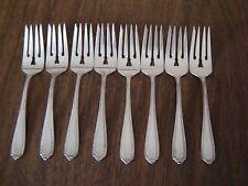 """Gorham Salad Forks or Dessert Forks GORHAM 1924 Westminster 6 1/4"""" - Set of 8"""