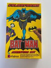 Vintage 1989 Colorforms BATMAN Adventure Set OPEN