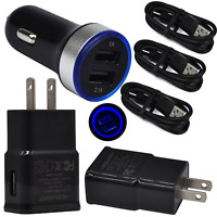 Charging for LG stylo 5 4+ G7 V35 ThinQ V20 V30s Wall Car Charger USB Cable