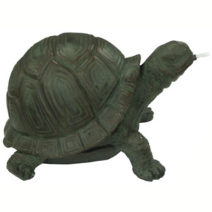 Bermuda Charming Pond Ornament, Spitting Animals, Beautifully Crafted - Tortoise